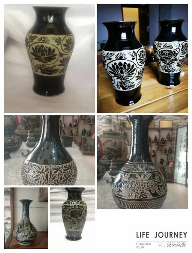 """地道的""""黑珍珠""""纯正的土瓷 ---话说澄城尧头黑瓷(七十)"""