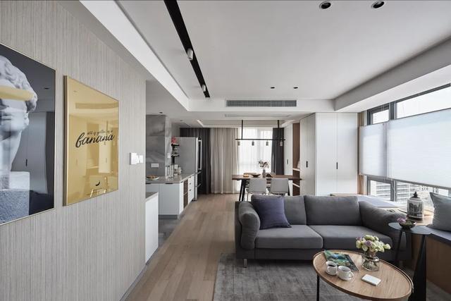 89㎡小豪宅,30m³全是收纳,寸寸都是高级感