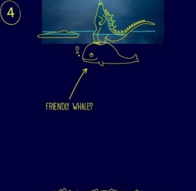 """电影里的""""哥斯拉""""是怎么站在大海上的?网友脑洞绝了哈哈哈哈"""