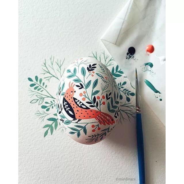 画蛋-水彩笔画蛋分图步骤教程,超可爱快收藏吧
