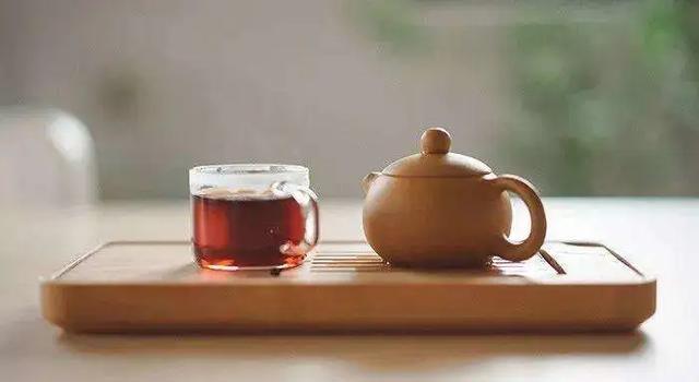 茶桌茶具摆放图片