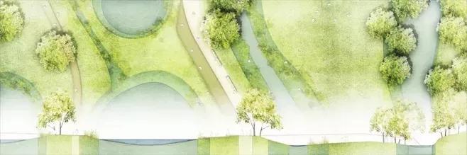 某小区三维鸟瞰效果图设计图__景观设计_环... _昵图网nipic.com