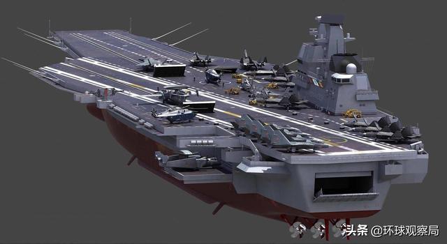 二战企业号航母三视图