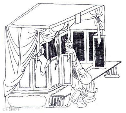魏晋南北朝时期的家具,名称十分有趣,和实际用途又有所不同