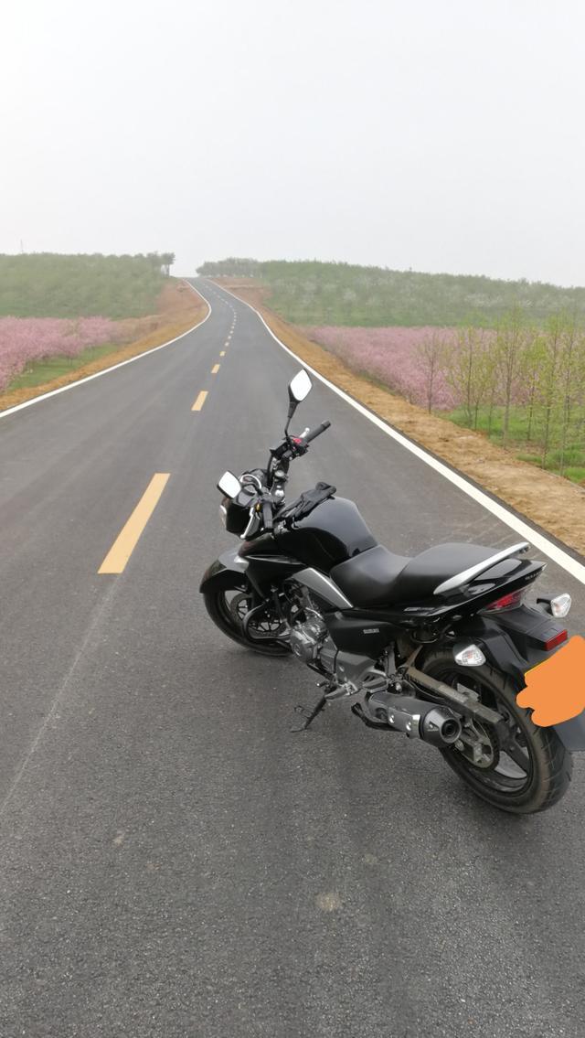 豪爵铃木GW250摩托车加装边箱!