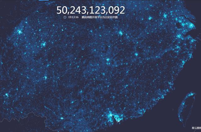 从腾讯位置大数据,看中国的超级城市