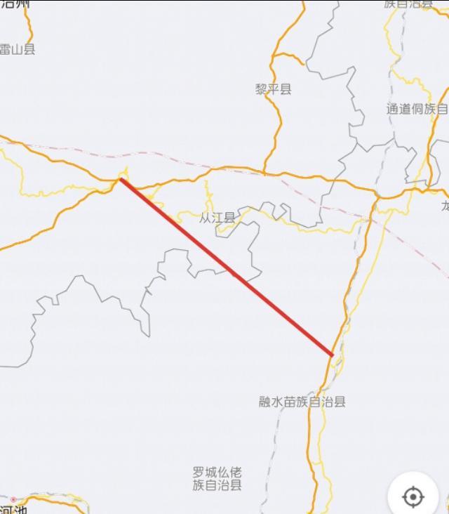 明董高速公路线路图