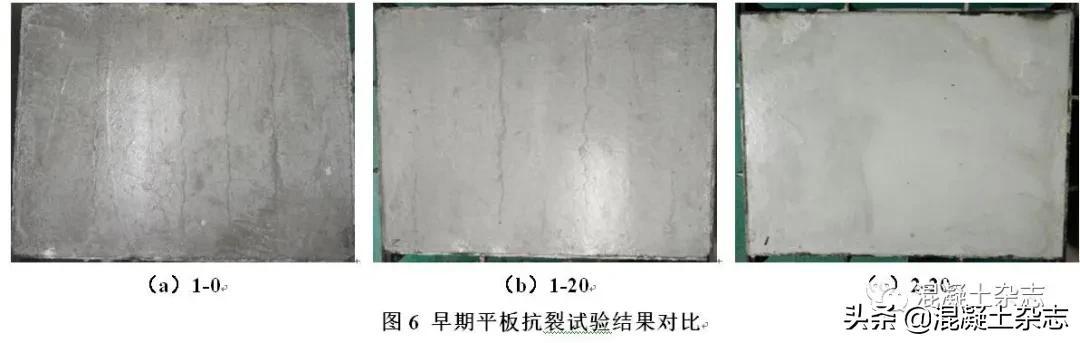 矿物掺合料对混凝土塑性收缩裂缝的影响