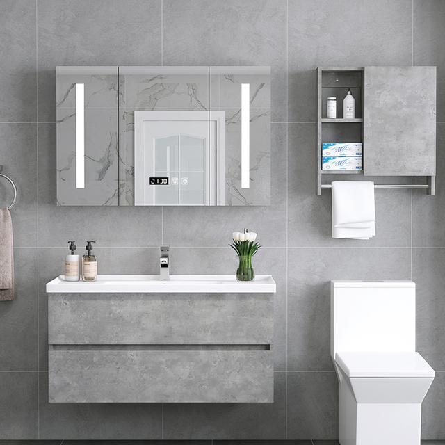 别再买老土的浴室柜了 这6款洗漱台按上去卫生间颜值翻几倍