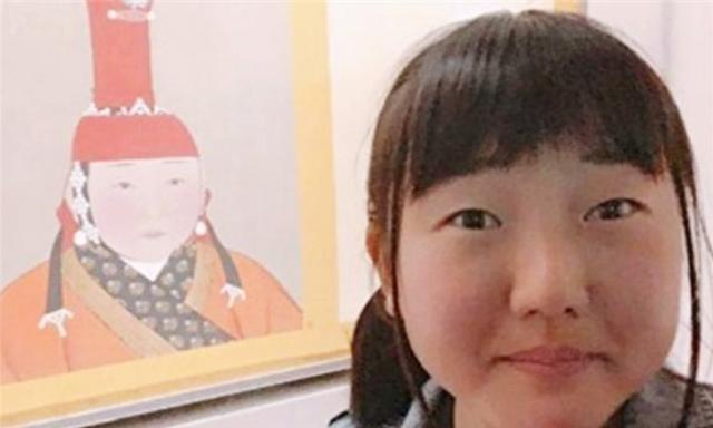 元朝皇后服饰图片