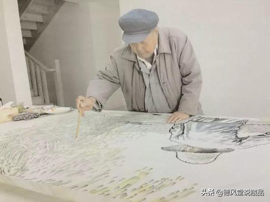 刘文西字画真迹