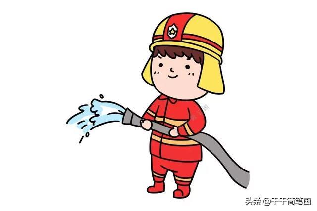 消防安全绘画一等奖