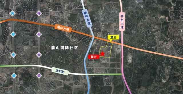 白沙龙港新区规划图