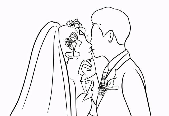 婚礼请柬模板填写图片