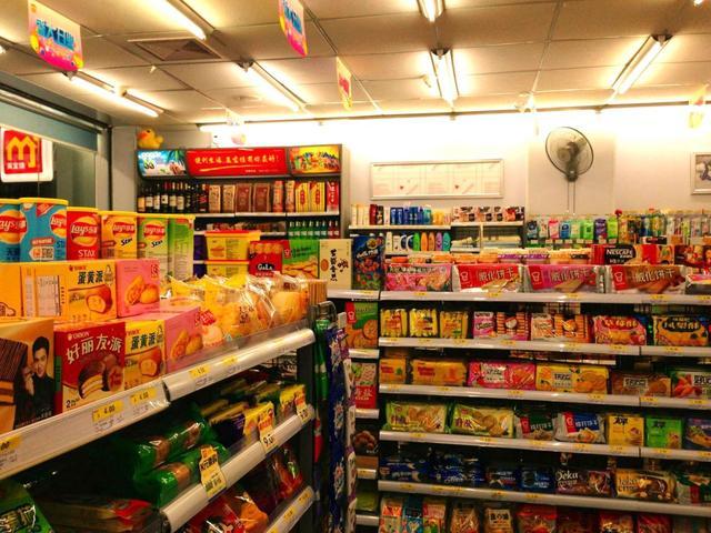 便利超市商品图片