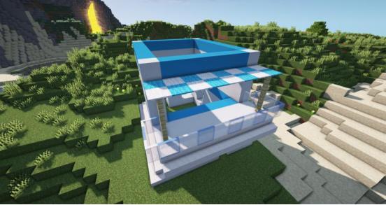 我的世界超大型别墅怎么建