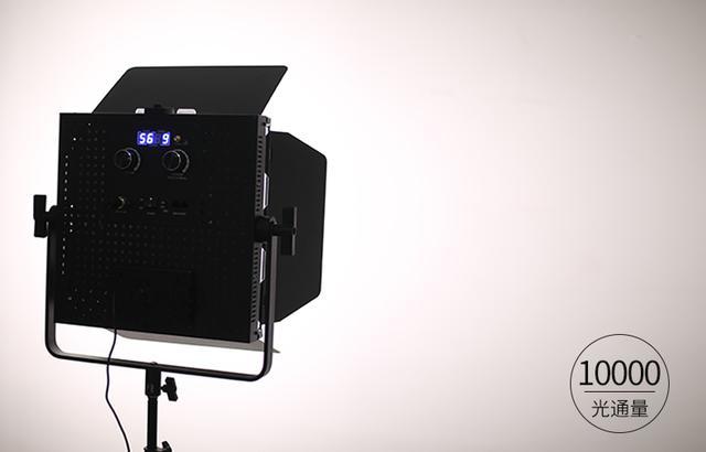 led摄影灯大功率视频补光灯专业演播室直播间方案绿幕蓝箱抠像灯