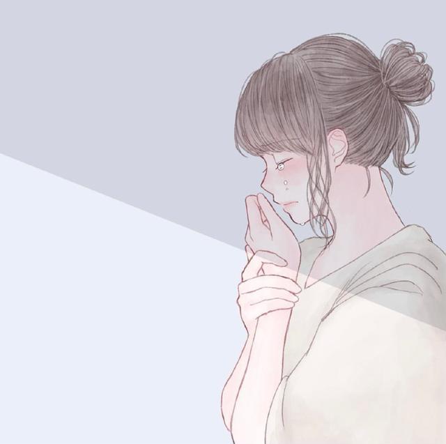 「伤感女生插画头像」如果时间可以倒退,一切也就不再珍贵魔方甜