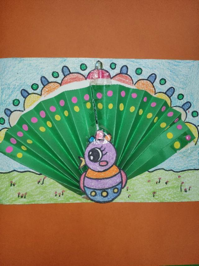 幼儿手工绘画课件作品!每天整理八张图,收藏了!