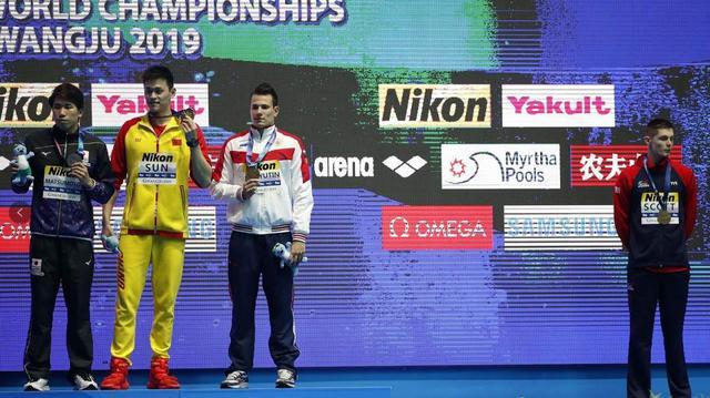 國際錄入公司泳聯對斯科特和孫楊發出警告信:都有舉止不當行為
