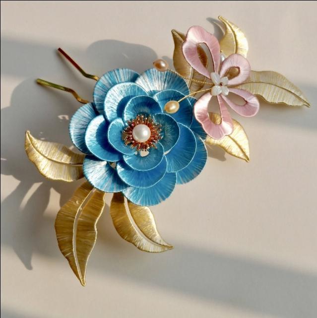 非物质文化遗产,绽放在指尖的传统艺术。——缠花