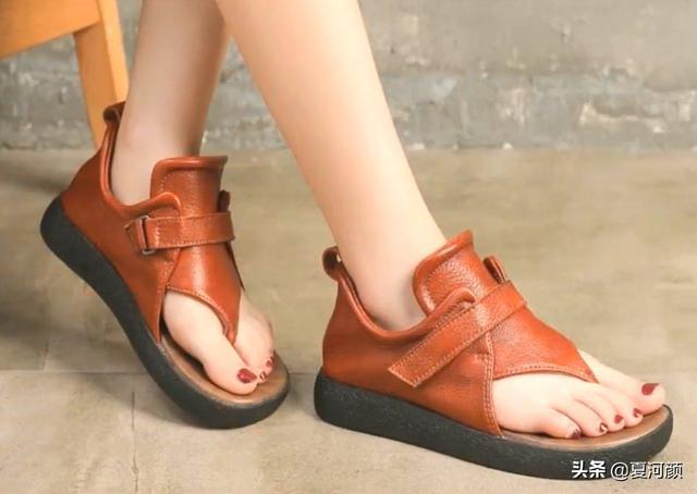 女人皮凉鞋【多图】_价格_图片- 天猫精选