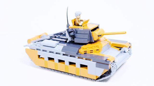 乐高玩具二战英军视频