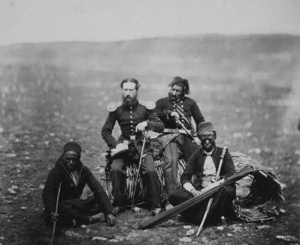 老照片记录,史上第一场战争,愿世界没有战争