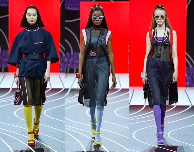 穿Prada的女王!57套普拉达2020秋季时装,洋溢女性的自信与魅力