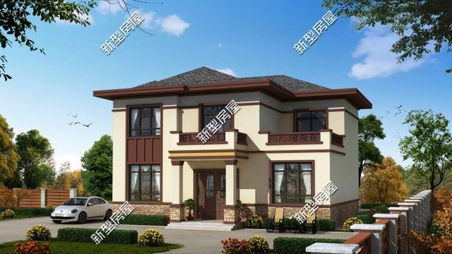 9套经典农村住宅,全套图纸拿回家,30万建好漂亮又实用
