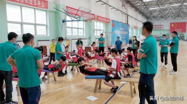河北省举办冬季项目双周体能训练营