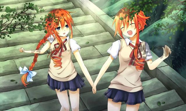 二次元双胞胎姐妹