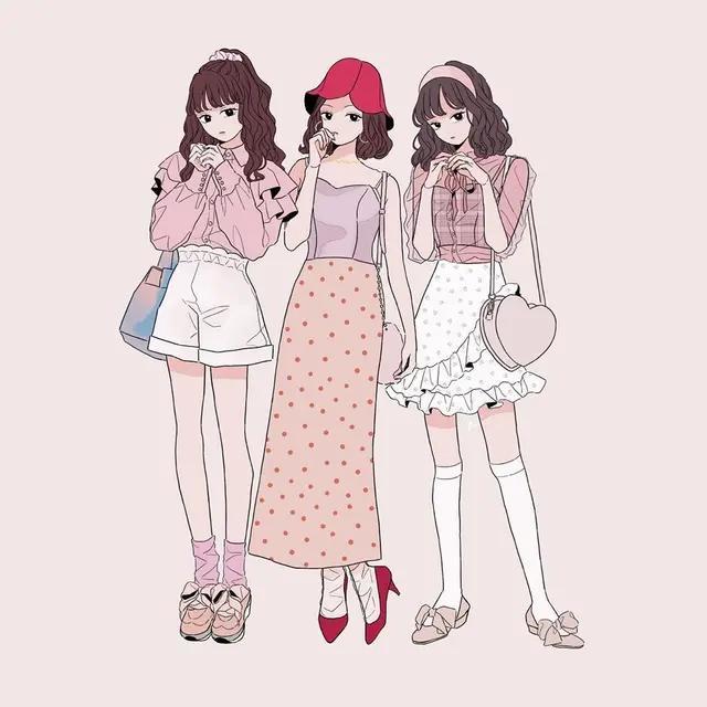 仙气古风动漫女生头像 生活是自己的,尽情装扮,尽情... _腾讯网