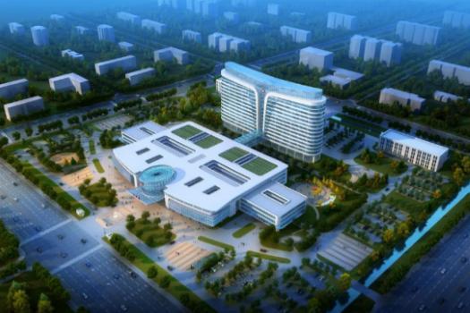 """新增一所县级""""三级综合医院""""长葛市人民医院新区分院"""