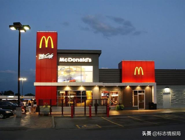 麦当劳的标志是什么?