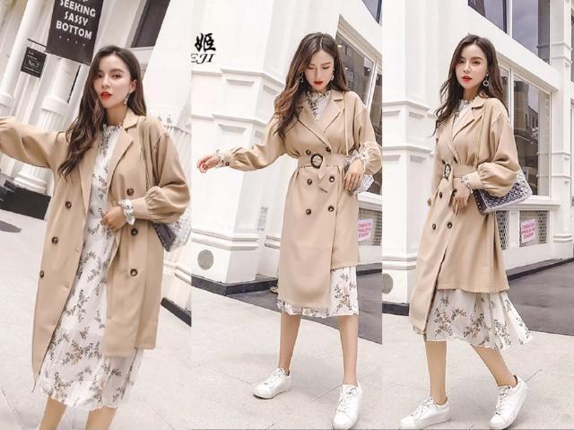 韩版风衣女装,2016新款韩版风衣女装批发拿货,货源-手机衣联网