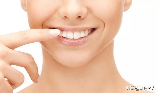 烤瓷牙把牙齿磨小照片