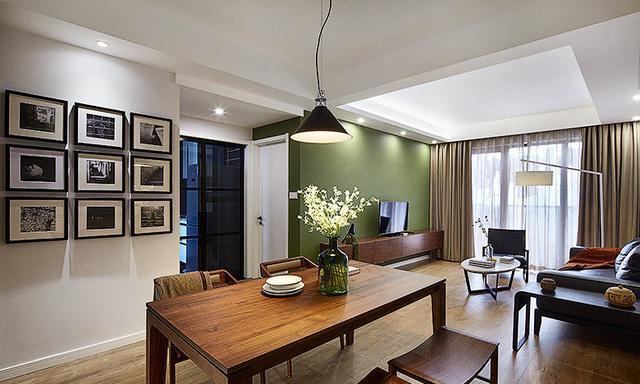 50平米的房子装修只花了4万,现代风格让人眼前一亮!-海淀路小区装修
