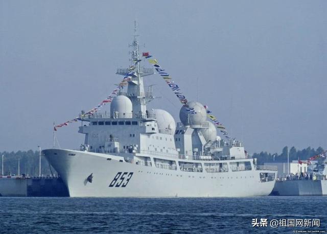 天王星号电子侦察船进入印度
