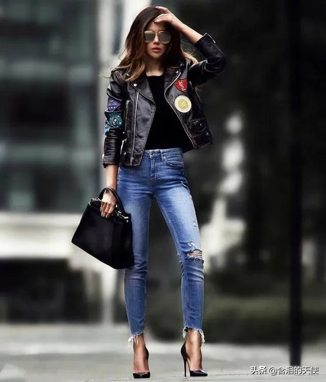 有没有一种风格的装扮让你眼前一亮?性感+知性+时尚=完美