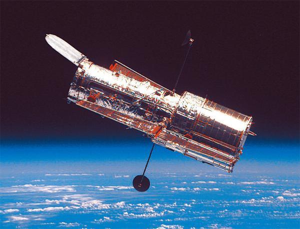 哈勃望远镜拍的照片