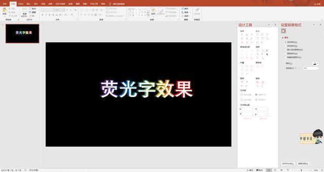 PPT per fare tutorial di parole fluorescenti