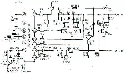 格兰仕微波炉接线图