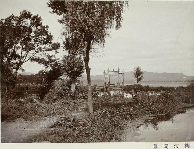 老照片里的杭州西湖十景,带你追寻旧时的西湖风光