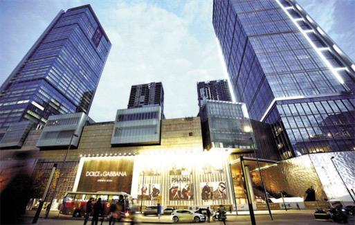 成都最高的楼 成都国际金融中心高达248米