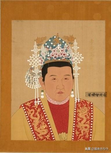 古代手绘美女宫廷皇后