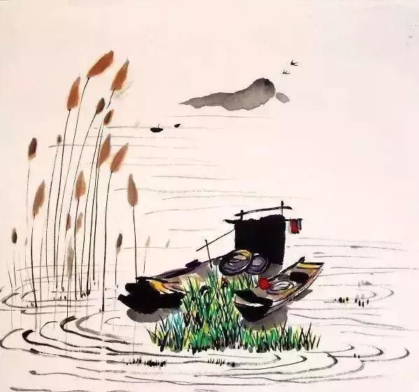 红船绘画儿童作品