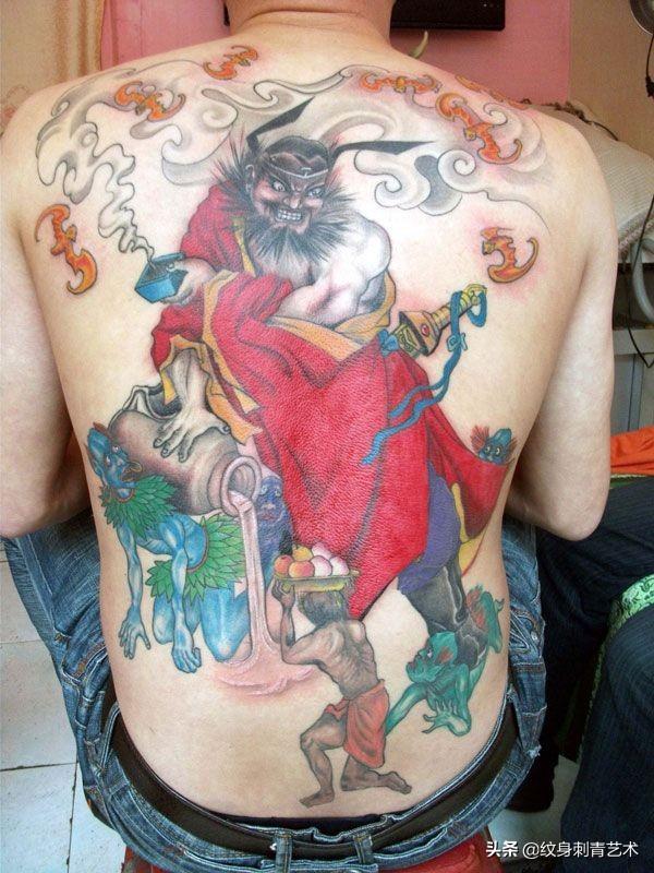 驱魔大神钟馗纹身手稿 - 国内作品纹身 - 纹身控