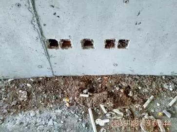 人防地下室水电预埋图