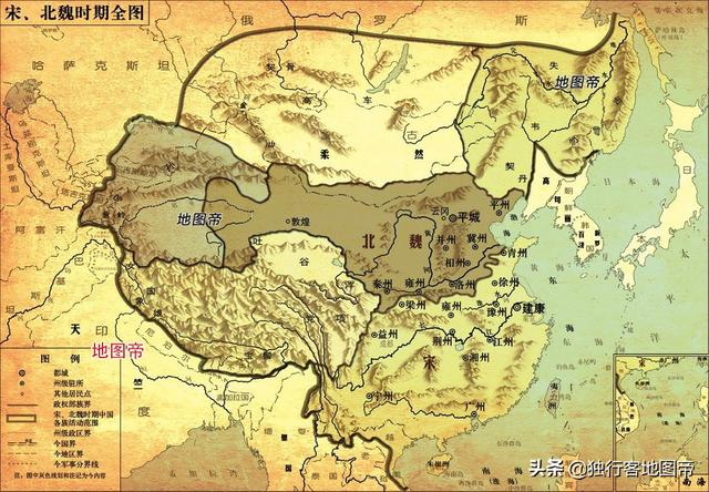 北宋南宋地图